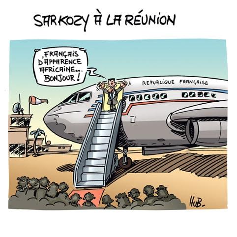 Sarkozy à la Réunion
