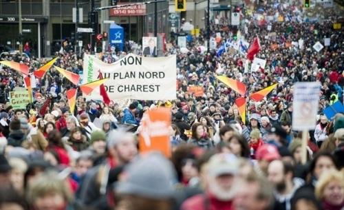 Jour de la terre : grande mobilisation au Québec