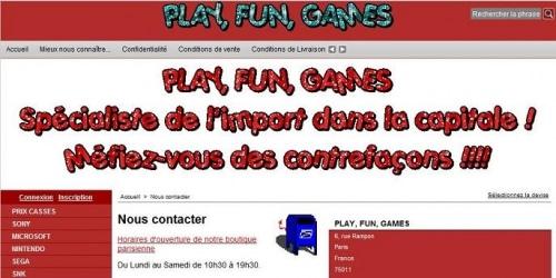 Play, Fun, Games, les jeux vidéos n'ont plus de frontières