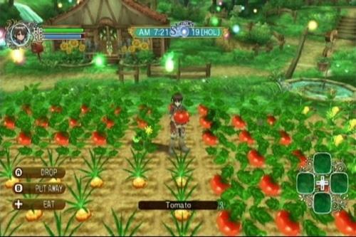 Rune Factory Frontier : l'émerveillement sur Wii