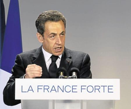 Sarkozy prend ses idées chez les autres.