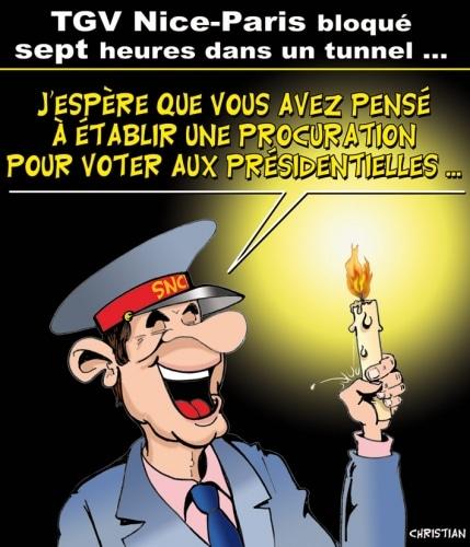 Retards à la SNCF …