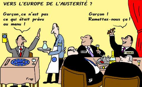 Vers  une  Europe de l'austérité ou à deux vitesses ?