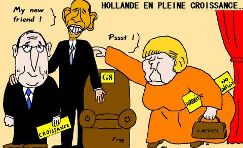 G8  :  Hollande  en  peine  croissance . .