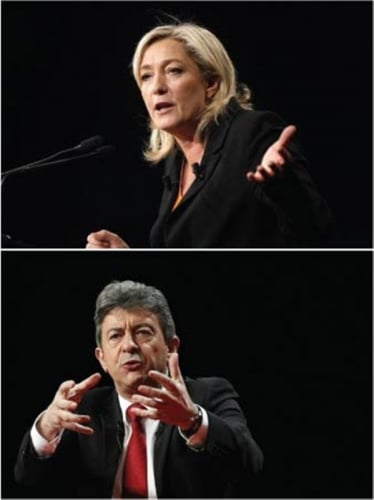 Le Pen / Mélenchon : ROUND 2!