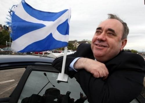 Alex Salmond l'homme qui veut rendre à l'Ecosse son indépendance
