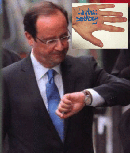 François Hollande, pas si normal