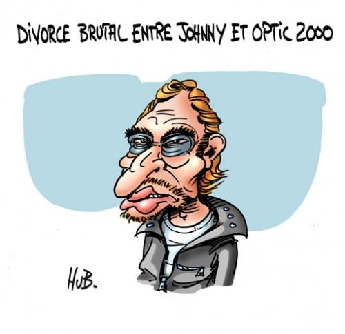 Johnny et OPTIC 2000 divorcent…