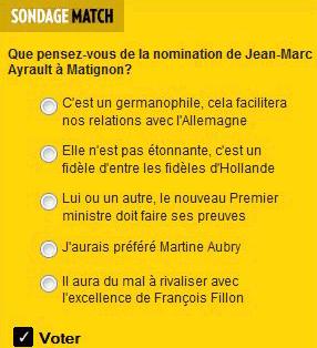 Exclusif : les conseils de Match à Ayrault !