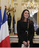 Aurélie Filippetti – Ministre de la culture et de la communication.