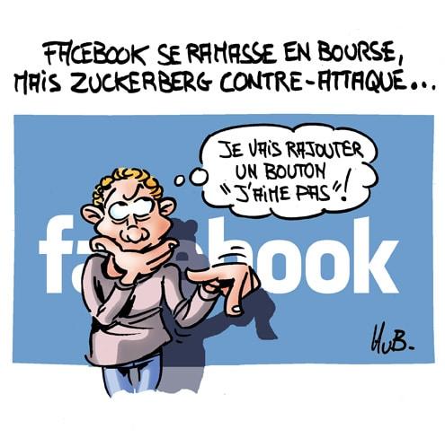 Facebook se ramasse à la bourse