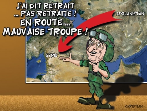 TROUPES FRANCAISES : De KABOUL à DAMAS ?