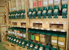 La vente en vrac se développe dans les supermarchés.