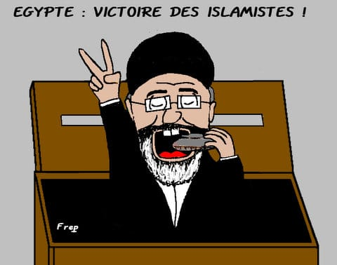 Egypte  :  victoire  des  islamistes . .