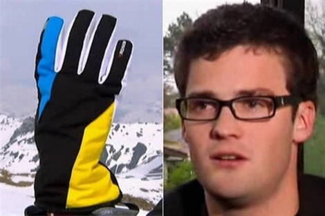 Insolite : un gant de ski Bluetooth !