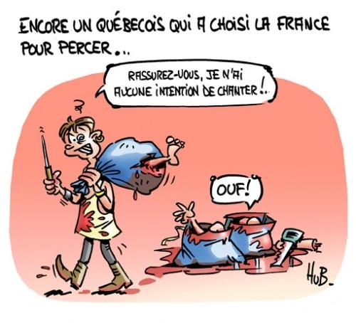 Encore un québécois…