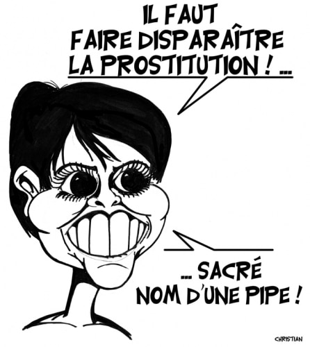 Faire disparaître la prostitution …