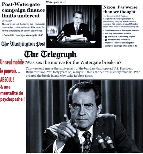 Watergate et Woerthgates : pire que nous le pensions ?
