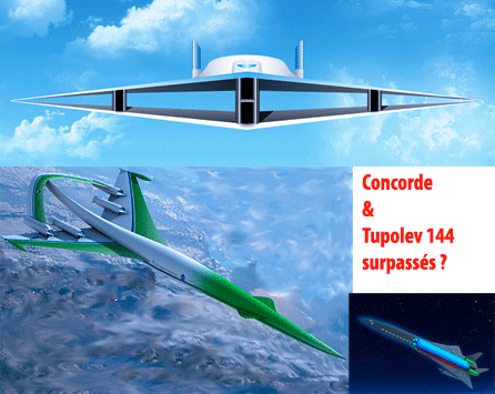 Aéronautique : successeur du Concorde, un biplan ?