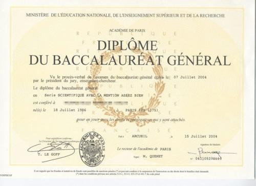 Le Baccalauréat, un test de connaissances obligatoire