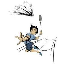 Le Badminton, un sport très tendance actuellement.