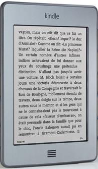 Le kindle Touch , Tremplin du livre numérique