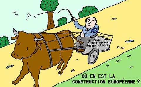 La  construction européenne  avance  !