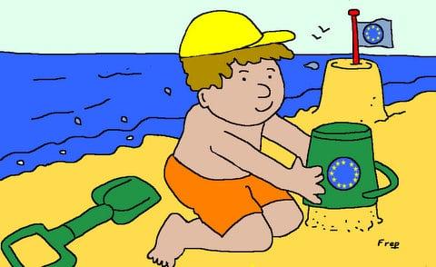 Pendant  l'été , la  construction  européenne  continue . .