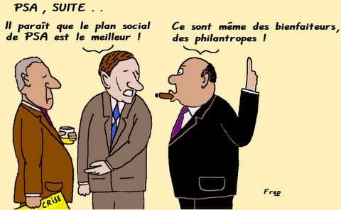 PSA , plan  social  , suite . .