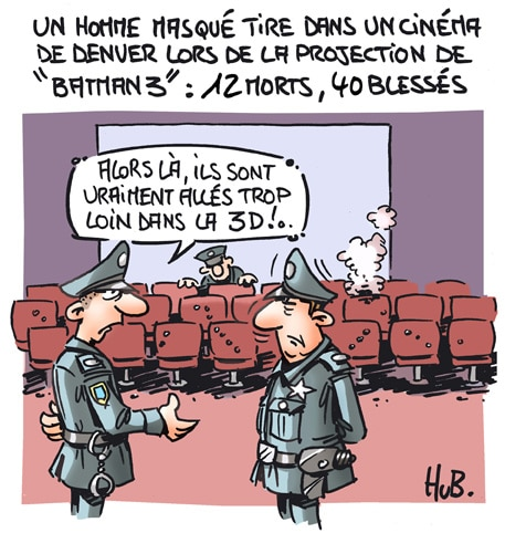 Tuerie au cinéma
