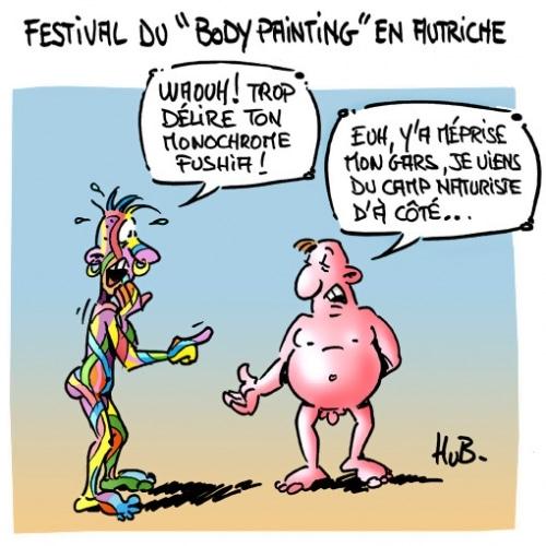 Festival du «Body Painting»