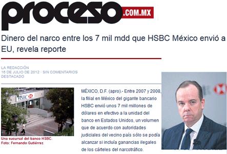 HSBC : bankster et blanchisseur d'argent sale ?