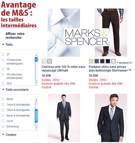 Marks & Spencer dans la panade