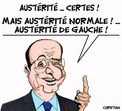Austérité normale, austérité de gauche !?