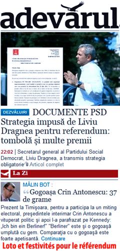 Roumanie : retour à la légalité ?