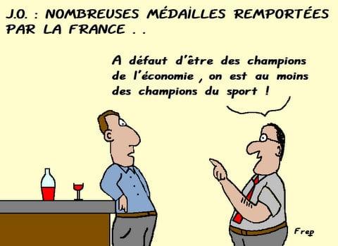 Jeux  Olympiques :  les  champions  du  sport . .