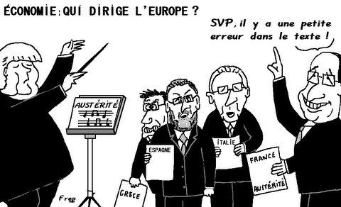 Economie  :  qui  dirige  l'Europe  ?