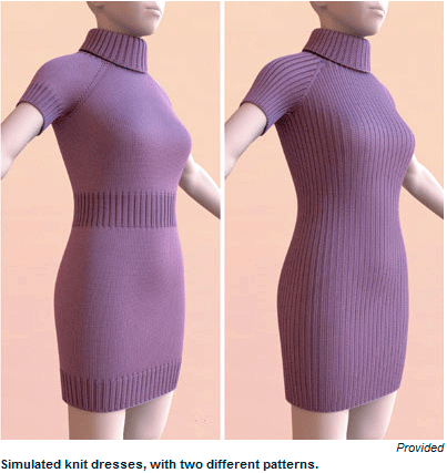 3D : Introducing the Fabulous Virtual Knitting!