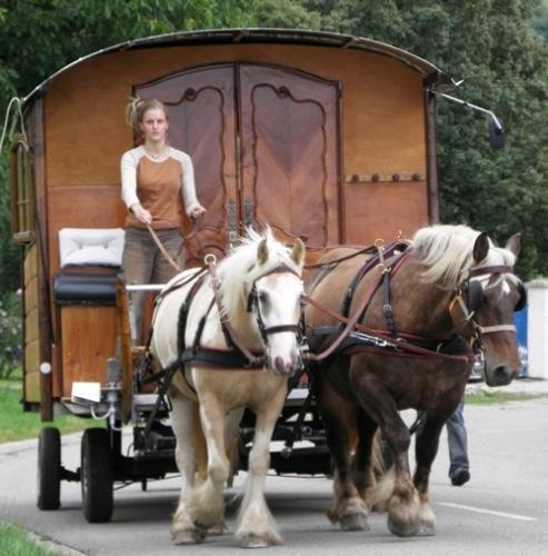 La roulotte de Léna et Tyry les lorrains