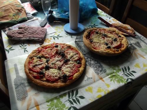 En été, faites des pizzas !