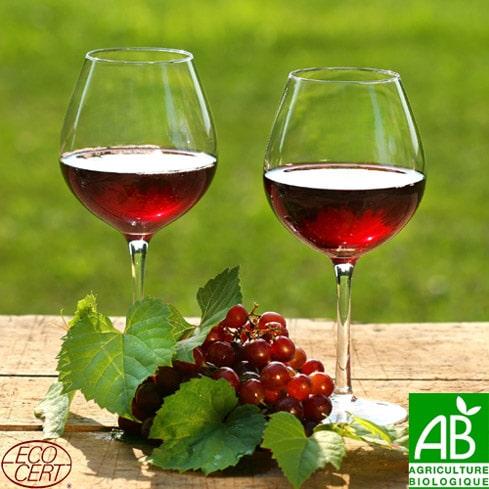 Ah, les beaux vins bio.