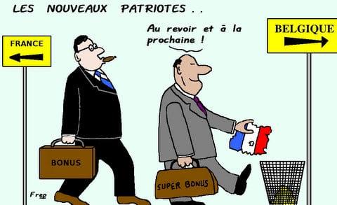 Les  nouveaux  patriotes . .