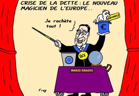 Crise de la dette :  le  nouveau magicien de l'Europe . .