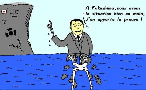 A  Fukushima ,  tout  va  bien  !