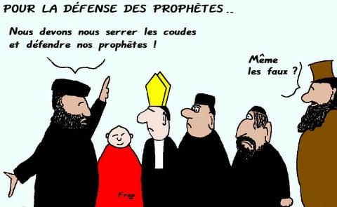 Pour  la  défense  des  prophètes . .