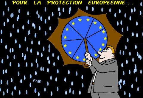 Pour  la  protection  européenne . .