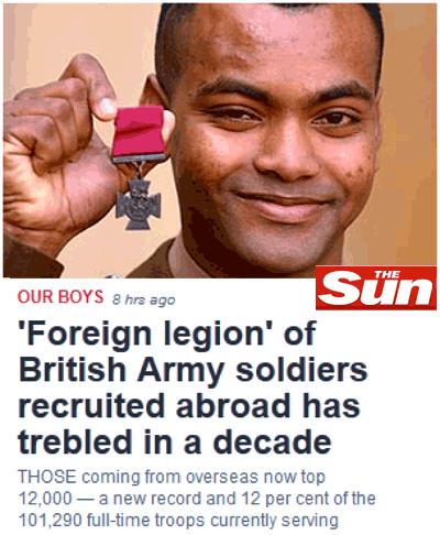 Défense : les armées britanniques décimées