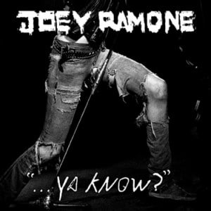 Joey Ramone, vous connaissez?: second album solo posthume pour l'ex- Ramones