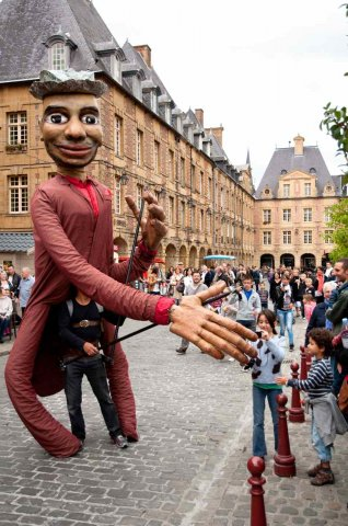 Week-end marionnettes, un an avant.