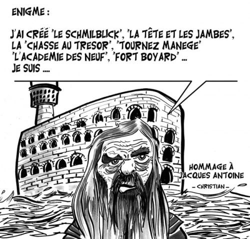Hommage à Jacques ANTOINE …